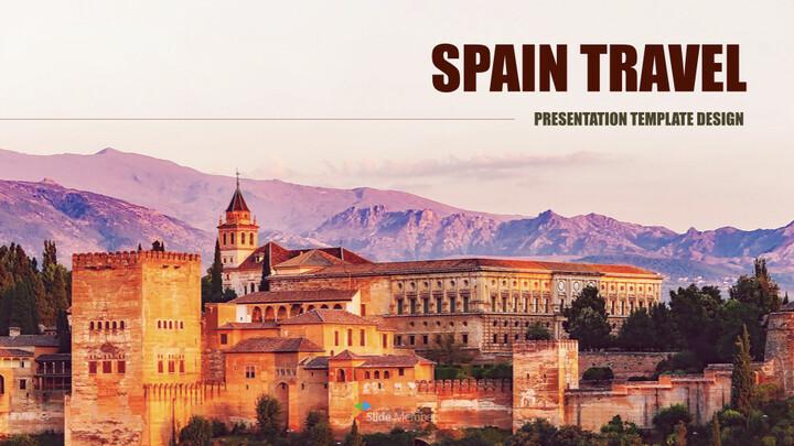 스페인 여행 최고의 키노트 템플릿_01