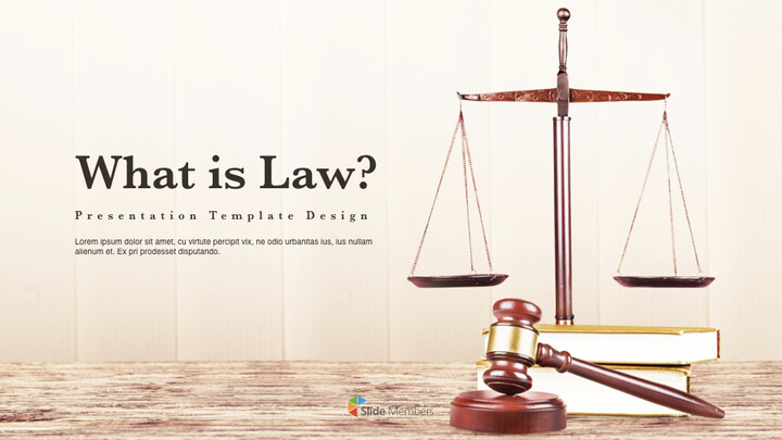 What is Law Multipurpose Presentation Keynote Template_01
