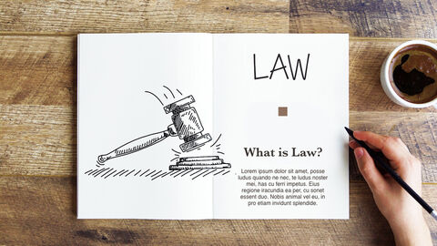 What is Law Multipurpose Presentation Keynote Template_04