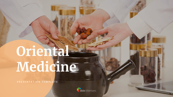 Oriental Medicine Simple Google Slides Templates_01