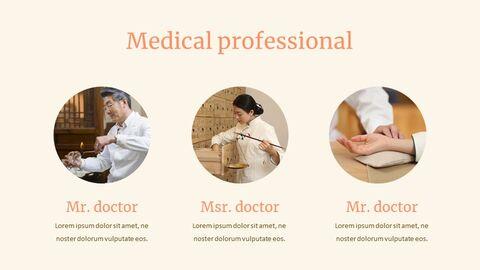 한의학 심플한 Google 슬라이드 템플릿_04
