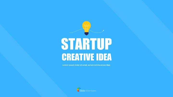 Startup Creative Idea Google PowerPoint Presentation_01
