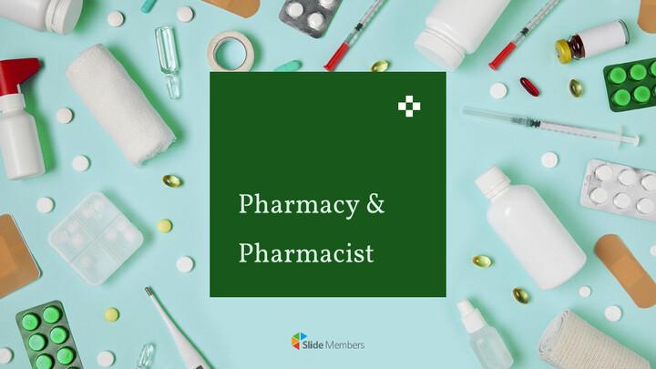 약국 및 약사 Google 슬라이드 테마 & 템플릿_01