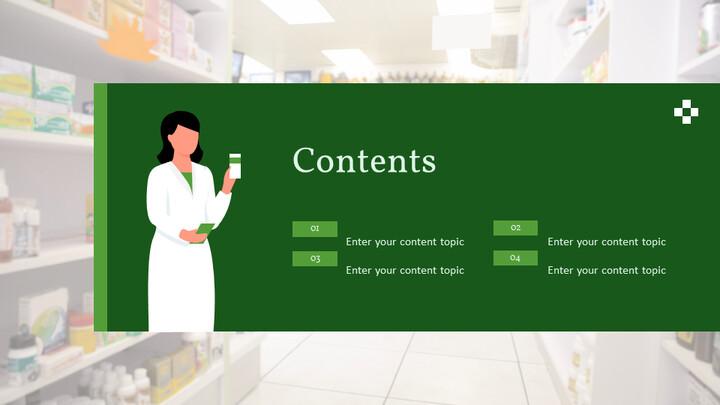 약국 및 약사 Google 슬라이드 테마 & 템플릿_02