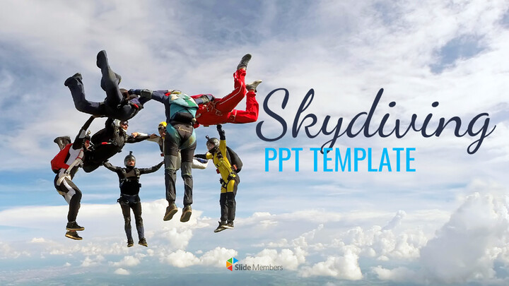 Skydiving Simple Google Slides Templates_01