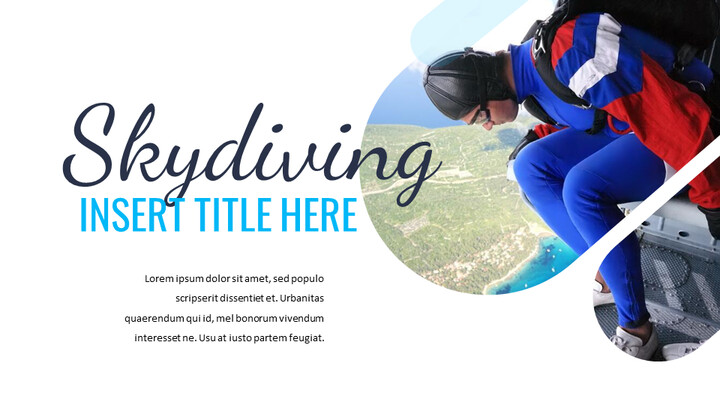 Skydiving Simple Google Slides Templates_02