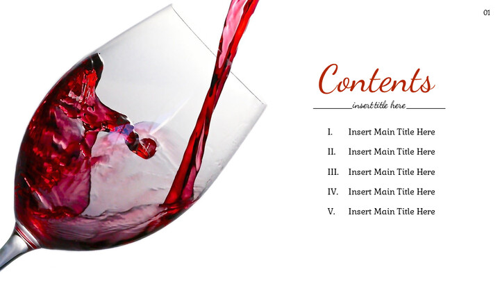 와인 파티 심플한 Google 프레젠테이션_02