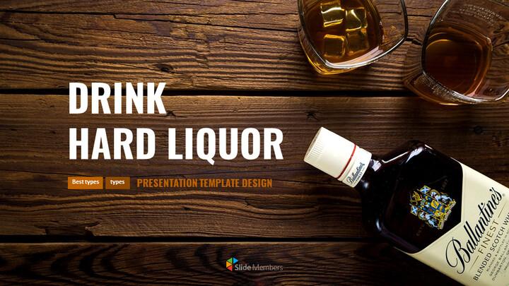 Drink hard liquor Simple Google Presentation_01