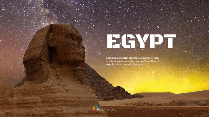 EGYPT Simple Presentation Google Slides Template_01