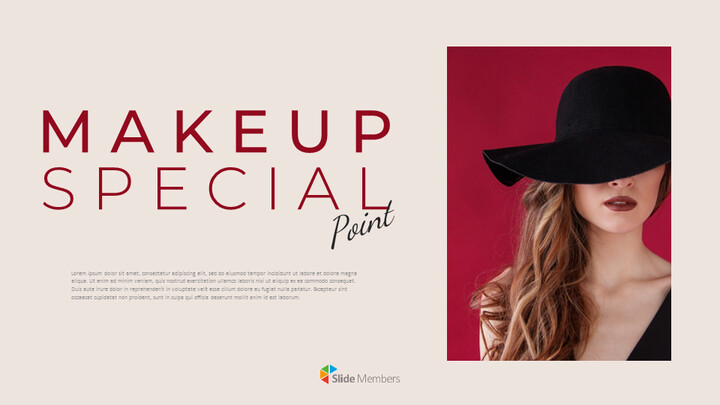 Makeup Special Google Slides Themes for Presentations_01
