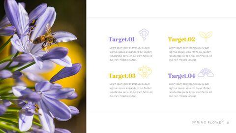 봄 꽃 편집이 쉬운 Google 슬라이드_04