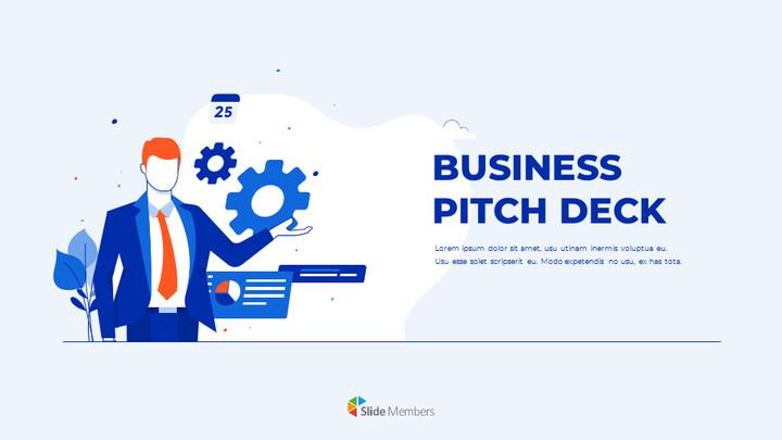 비즈니스 피치덱 디자인 PPT 편집이 쉬운 구글 슬라이드 템플릿_01