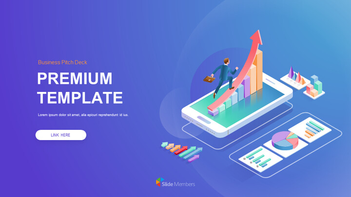 Business Pitch Deck Premium Template Simple Google Slides_01