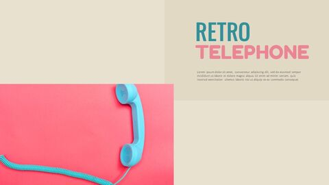 Retro Design Simple Google Slides Templates_02