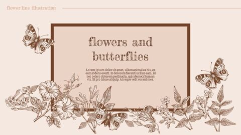 Flower Illustration Custom Google Slides_03
