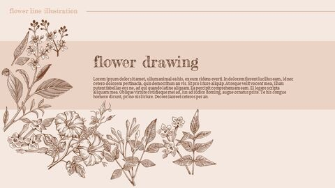 Flower Illustration Custom Google Slides_04
