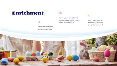 Hello Easter Simple Presentation Google Slides Template_05