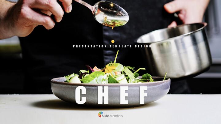 요리사 최고의 키노트 템플릿_01