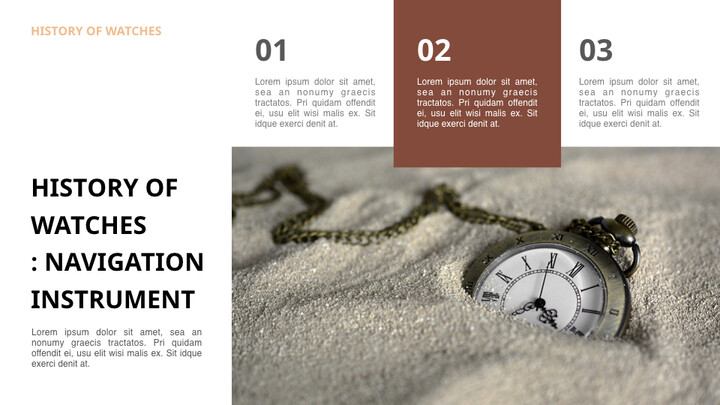 Past to present : About watch Ultimate Keynote Template_02