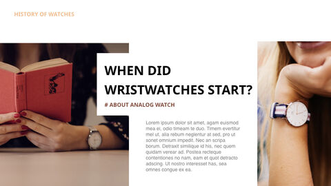 Past to present : About watch Ultimate Keynote Template_03