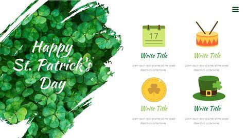 St. Patrick\'s Day Easy Google Slides Template_03