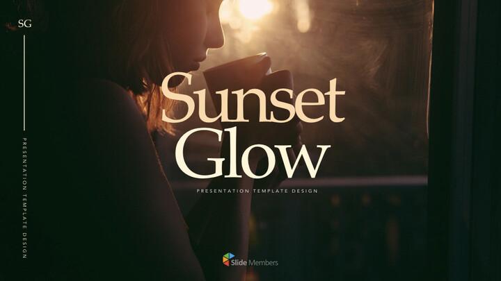 Sunset Glow Keynote PowerPoint_01