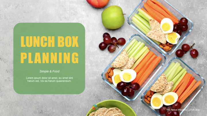 Easy tips for lunch box planning Keynote PowerPoint_01