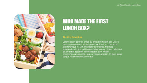 Easy tips for lunch box planning Keynote PowerPoint_04