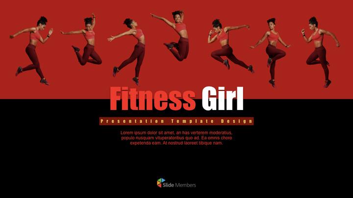 Fitness Girl Keynote Design_01