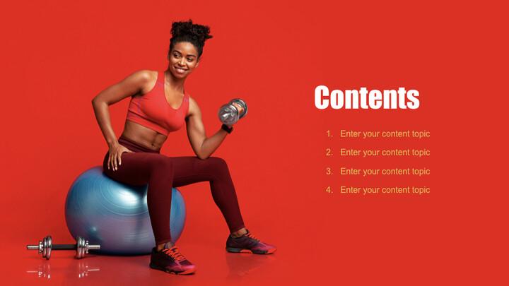 Fitness Girl Keynote Design_02
