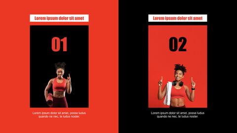 Fitness Girl Keynote Design_04