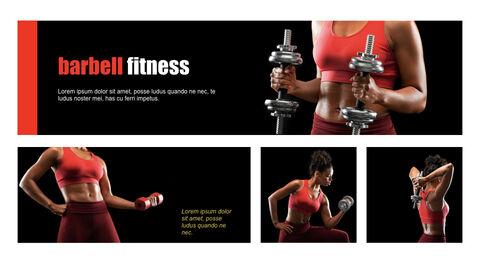 Fitness Girl Keynote Design_05