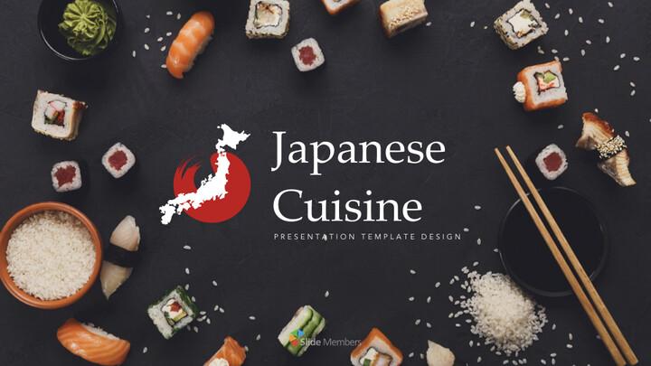 일본 요리 PPTX의 키노트_01