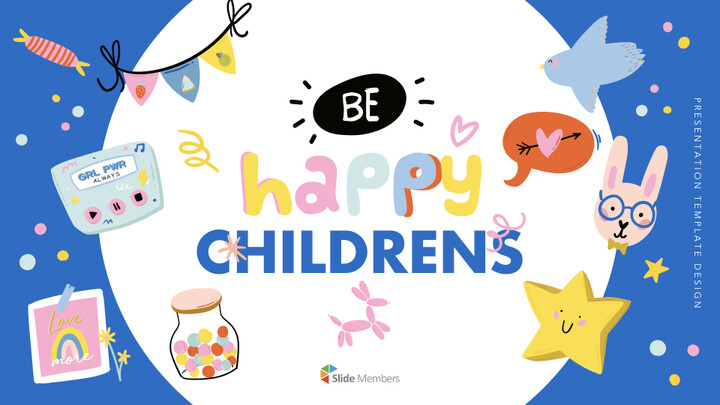Be Happy Childrens Keynote Templates_01