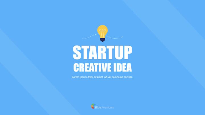 Startup Creative Idea Keynote for PC_01