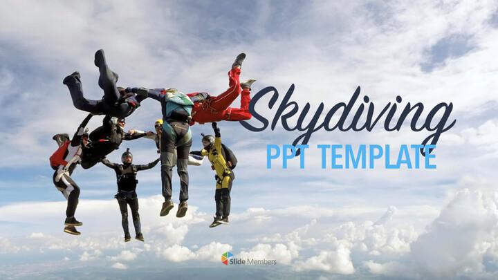 Skydiving Keynote Presentation Template_01