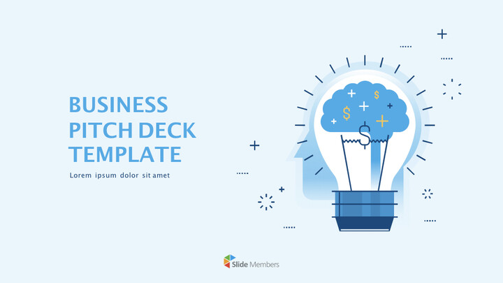 Business Pitch Deck Template Keynote for Microsoft_01