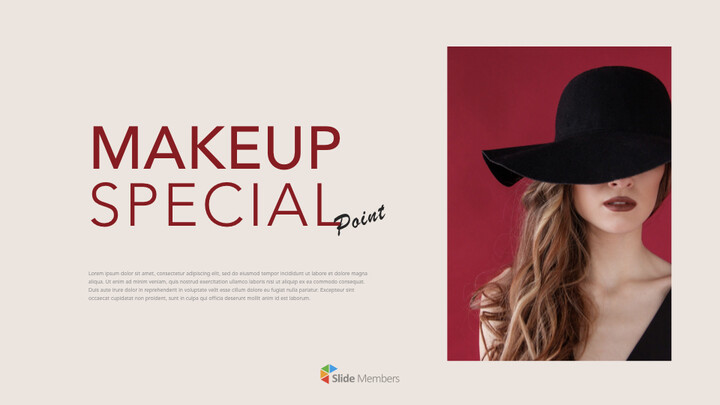Makeup Special Theme Keynote Design_01
