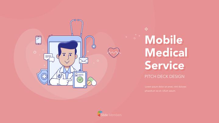 모바일 의료 서비스 PPT의 키노트_01