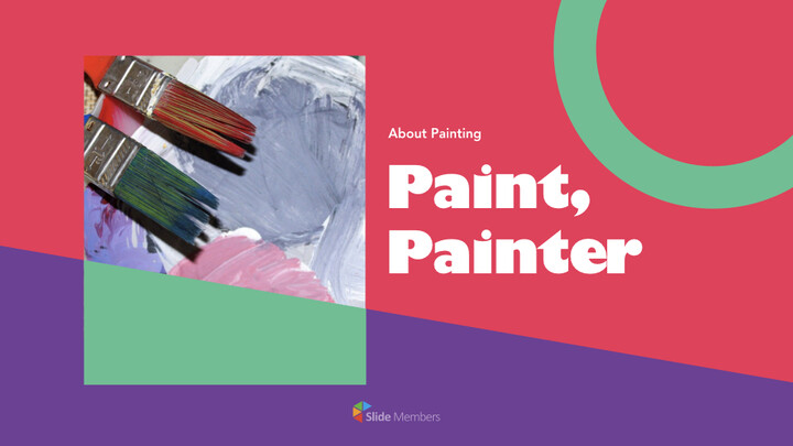 Paint, painter Keynote for PC_01