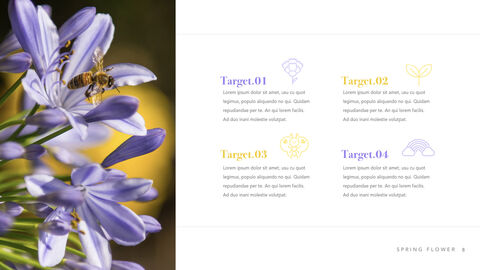 Spring Flower Keynote PowerPoint_08