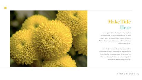 Spring Flower Keynote PowerPoint_26