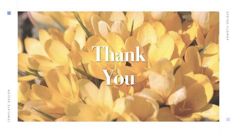 Spring Flower Keynote PowerPoint_39