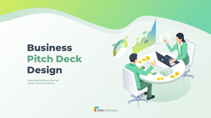 Business Pitch Deck Design Easy Google Slides Template_01