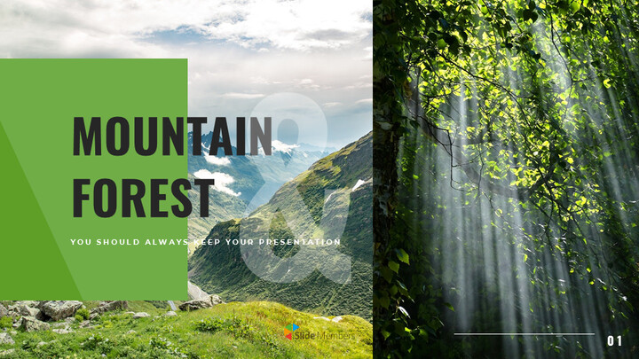 Mountain & Forest Simple Google Templates_01