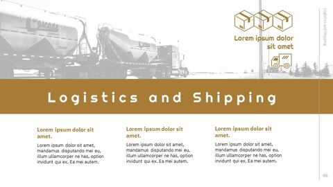 Logistics and Shipping Google Docs PowerPoint_05