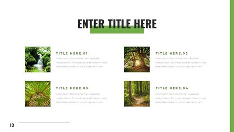 Mountain & Forest Simple Google Templates_13