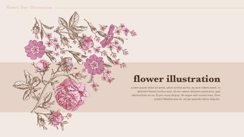 Flower Illustration PPT Keynote_04