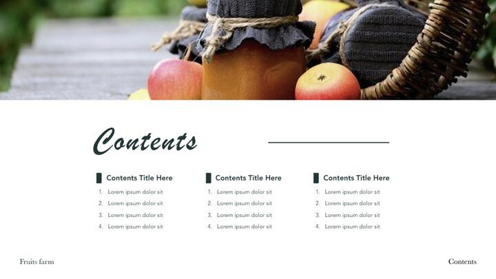 Fruits Farm Keynote mac_02