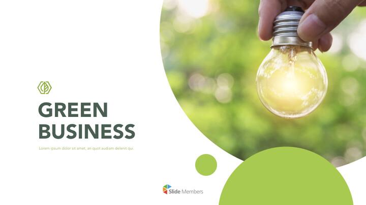 Green Business PPT Keynote Presentation_01